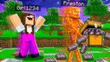 7 Ways to Steal Noob1234's Girlfriend's Netherite! – Minecraft