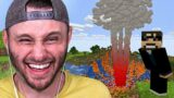 Beating MINECRAFT With a FUNNY Nuke Mod…