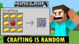 Minecraft, But Crafts Are Random | Minecraft in Hindi Gameplay | Ayush More