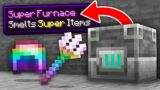 Minecraft, But Smelting Gives OP Items…