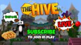 Minecraft HIVE with VIEWERS | LIVE | Subscribe = SCREAM | 1k Today?