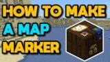 Minecraft Map Marker Trick #Shorts