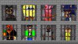 Minecraft PE : DO NOT CHOOSE THE WRONG PRISON! (Piggy, Preston, Slogo, Sonic.EXE & FuzionDroid)