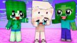 Monster School : BAD ZOMBIE FAMILY LIFE – Sad Story – Minecraft Animation