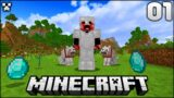 The Fun Begins! | Let's Play Minecraft Survival Episode 1
