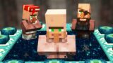 Beating Minecraft but I'm a Villager…