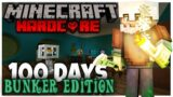 I Survived 100 Days of Hardcore Minecraft in a Fallout Bunker, and Here's What Happened!