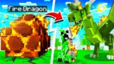 LIFE OF A LEGENDARY DRAGON IN MINECRAFT!