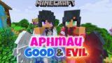 Minecraft Aphmau is Half Good and Half Evil