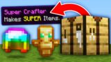 Minecraft, But Crafting Is OP…