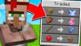 Minecraft But Villagers Trade Cursed Items…