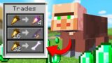 Minecraft but every mob has Villager trades…