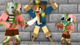 Monster School : POOR BABY ZOMBIE PIGMAN LIFE CHALLENGE – Minecraft Animation