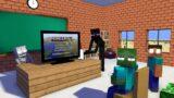 Monster School: SPEEDRUNNING MINECRAFT ON PS5! – Minecraft Animation