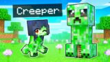 My SUPER SECRET Creeper Base In Minecraft!