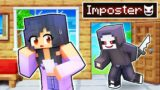 One NIGHT With An IMPOSTER In Minecraft!