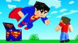 We Open SUPERMAN LUCKY BLOCKS! (Minecraft)