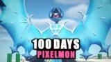 100 Days in Minecraft's Pixelmon Mod