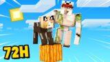 72 GODZINY JAKO MOB NA JEDNYM BLOKU w Minecraft!   Vito i Bella