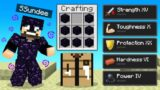 Beating Minecraft Using *ANY BLOCK* as ARMOR (HILARIOUS)