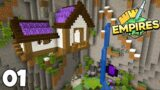 Empires SMP: A Caves and Cliffs Starter House | Minecraft 1.17 Let's Play Episode 1
