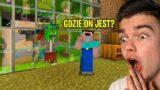 MOJA NOWA SEKRETNA BAZA W DOMU NOOBKA w Minecraft! (nikt o tym nie wie)