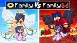 Minecraft ANGEL Family vs DEMON Family!