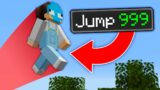 Minecraft, But Every Jump Is Multiplied…