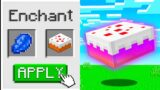 Minecraft But You Can Enchant Food…