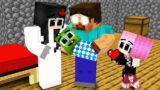Monster School : Poor Baby Zomibe and Lucky Dog – Sad Story – Minecraft Animation