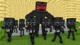Monster School : Poor Wither Skeleton Babies Sad Story – minecraft animation