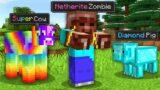 Paso Minecraft pero Hay Mobs Personalizados OP