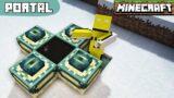 Smallest Portal In Minecraft!