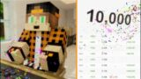 10K SUBCRIBERS! (Minecraft Animation) | Dye MC