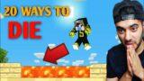 20 Ways To Die in Minecraft