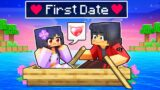 Aphmau First DATE In Minecraft!