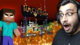 HEROBRINE DESTROYED MY WORLD? (MINECRAFT #27)   RAWKNEE