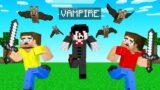 HUNTERS vs VAMPIRE SPEEDRUNNER! (Minecraft)