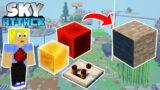 Halbe Insel abgerissen! Redstone Stein Maschine & mehr! – Minecraft SKY ATTACK #27
