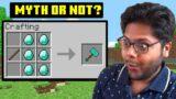 I Busted YOUR Minecraft Myths | MythCraft #3 | Ayush More
