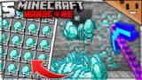 I Mined the MOST DIAMONDS in Minecraft Hardcore! (#5)