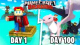 I Spent 100 Days in the Minecraft HOW TO TRAIN YOUR DRAGON World… Here's What Happened