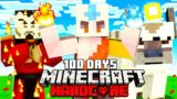 I Survived 100 Days As The Avatar in Minecraft Hardcore and Here's What Happened
