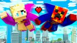 I Went on a SUPERHERO Date with PrestonPlayz! – Minecraft