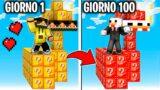 ISOLA LUCKYBLOCK MARCY vs BELLAFACCIA – GIORNO 1 vs 100- Minecraft ITA