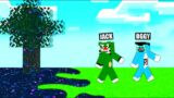 Minecraft But , Virus Spread Everywhere | With Oggy And Jack | Rock Indian Gamer |