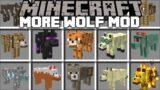Minecraft MORE WOLF MOBS MOD / DANGEROUS BRAND NEW MOBS AGAINST MOWZIES !! Minecraft Mods