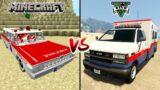 Minecraft ambulance car vs GTA 5 ambulance van – which is best?