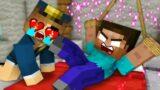 Monster School : Baby Herobrine and Dog Life – Sad Story – Minecraft Animation
