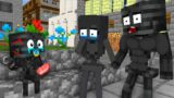 Monster School : Poor Baby Wither Became Strong – Sad Story – Minecraft Animation